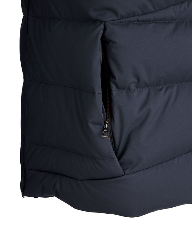 Fillmore Green Storm System Hooded Down Vest picture 4