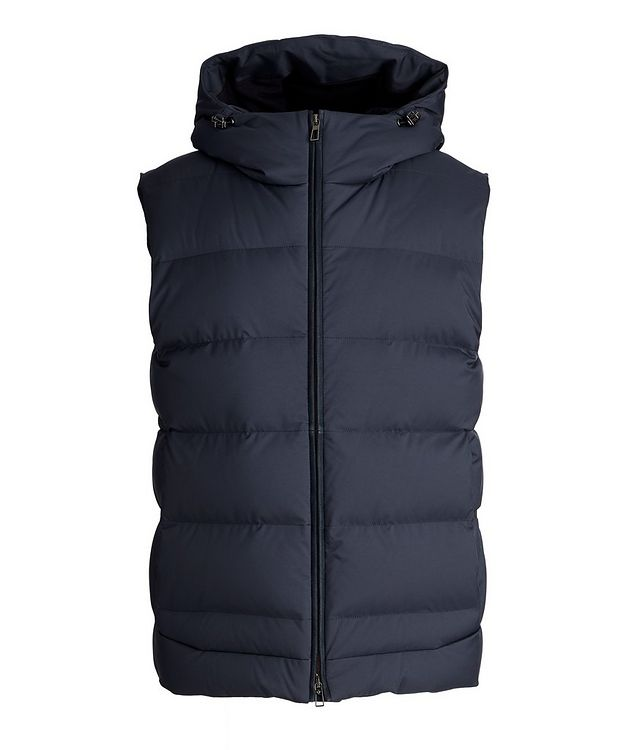 Fillmore Green Storm System Hooded Down Vest picture 1