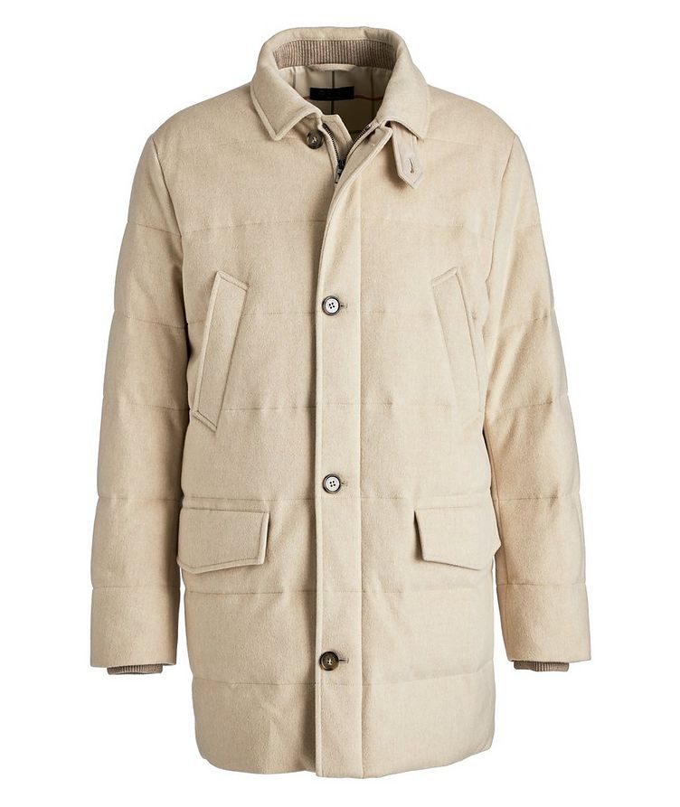 Caldwell Waterproof Cashmere Down Parka image 0