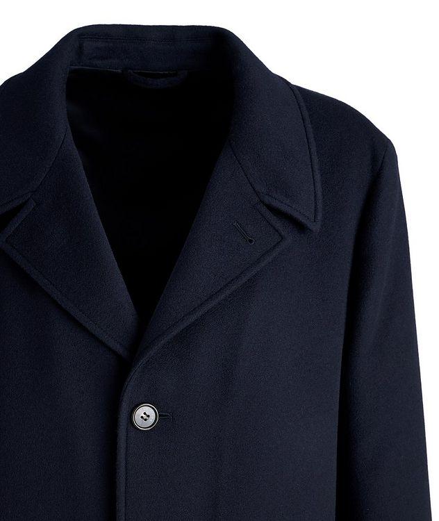 Redmond Water-Resistant Cashmere Car Coat picture 3