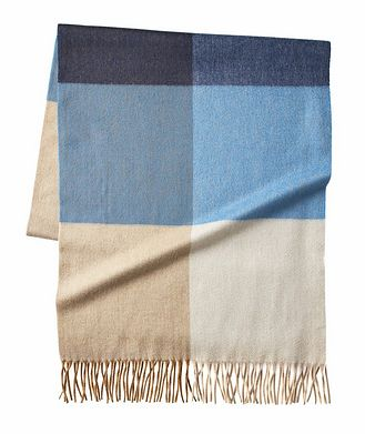 Loro Piana Checked Cashmere Scarf
