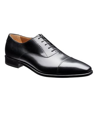 Harry Rosen Cap-Toe Leather Oxfords