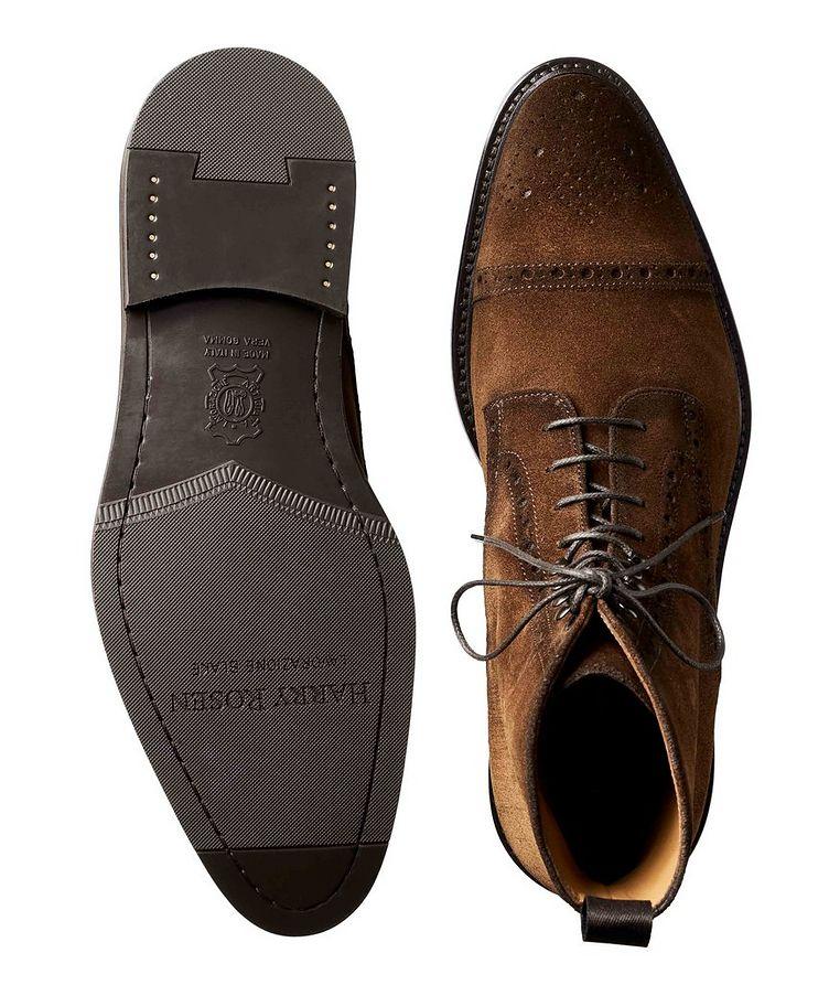 Suede Cap-Toe Boots image 2