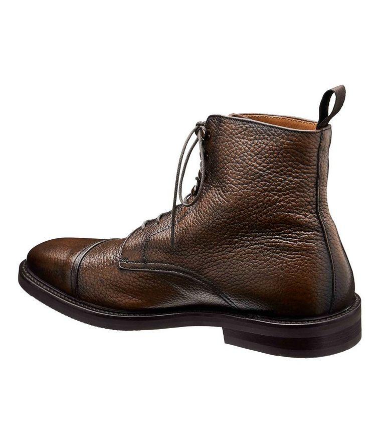 Deerskin Cap-Toe Boots image 1