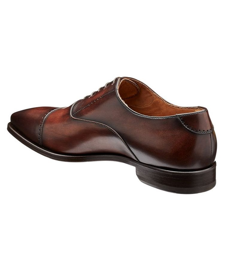 Cap-Toe Leather Oxfords image 1