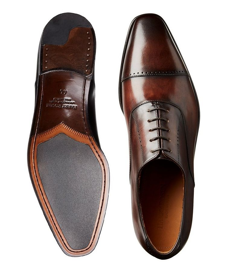 Cap-Toe Leather Oxfords image 2