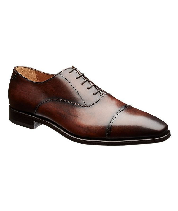 Cap-Toe Leather Oxfords image 0