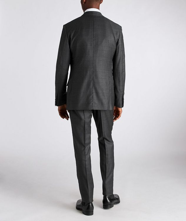 Shelton Glen-Checked Wool-Silk Suit picture 3