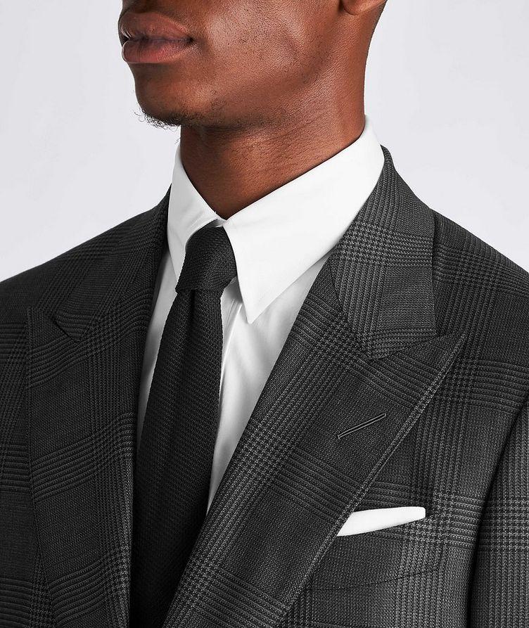 Shelton Glen-Checked Wool-Silk Suit image 3