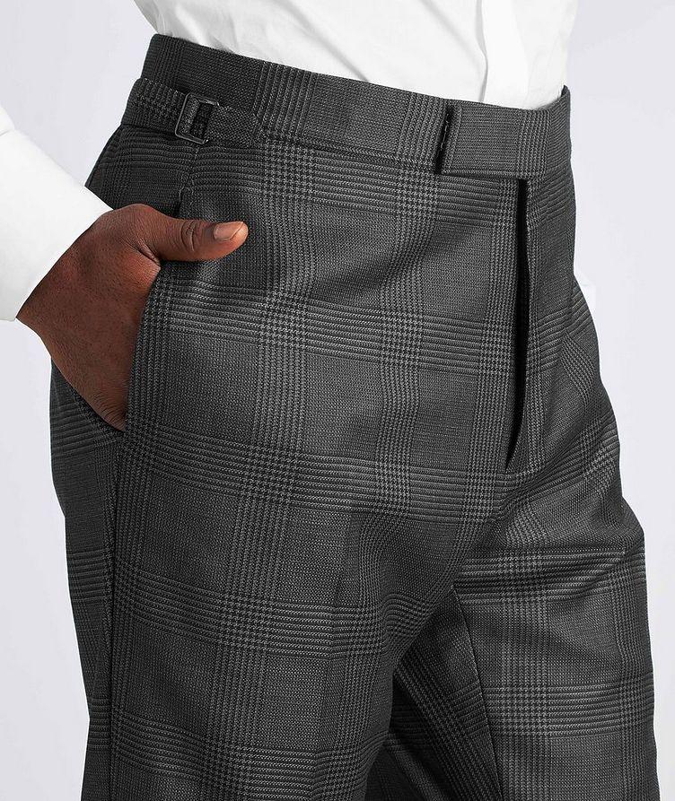 Shelton Glen-Checked Wool-Silk Suit image 4
