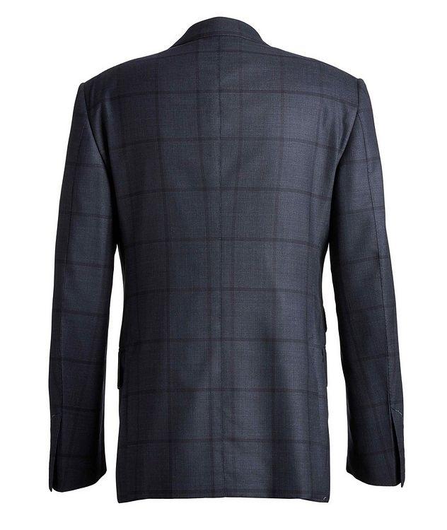 Shelton Windowpane Wool-Silk Suit picture 2