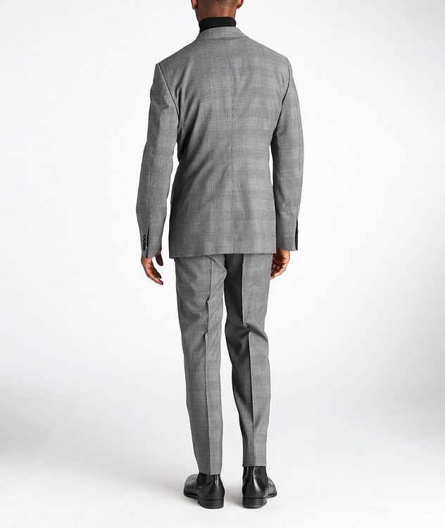 O'Connor Glen-Checked Stretch-Wool Suit picture 3