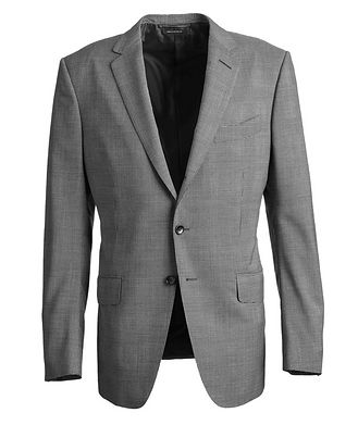 TOM FORD O'Connor Glen-Checked Stretch-Wool Suit