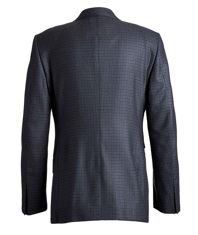 O'Connor Checked Wool Suit image 1