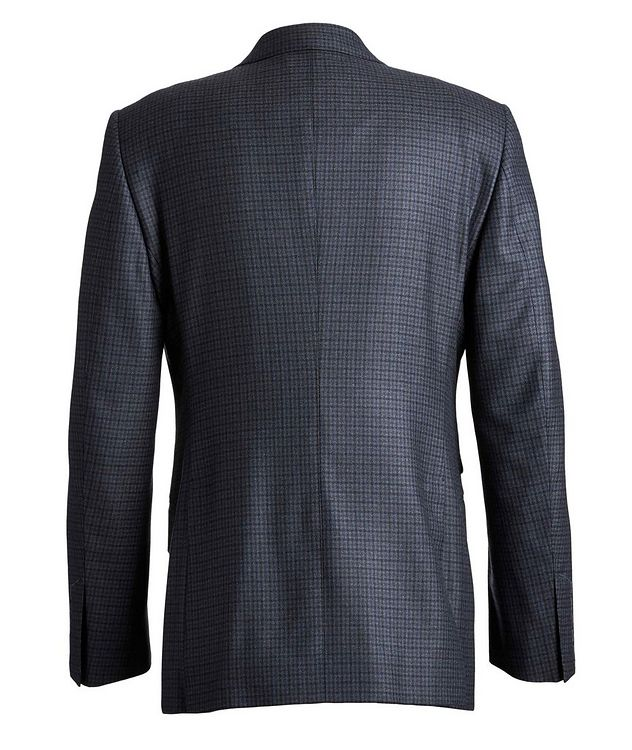 O'Connor Checked Wool Suit picture 2