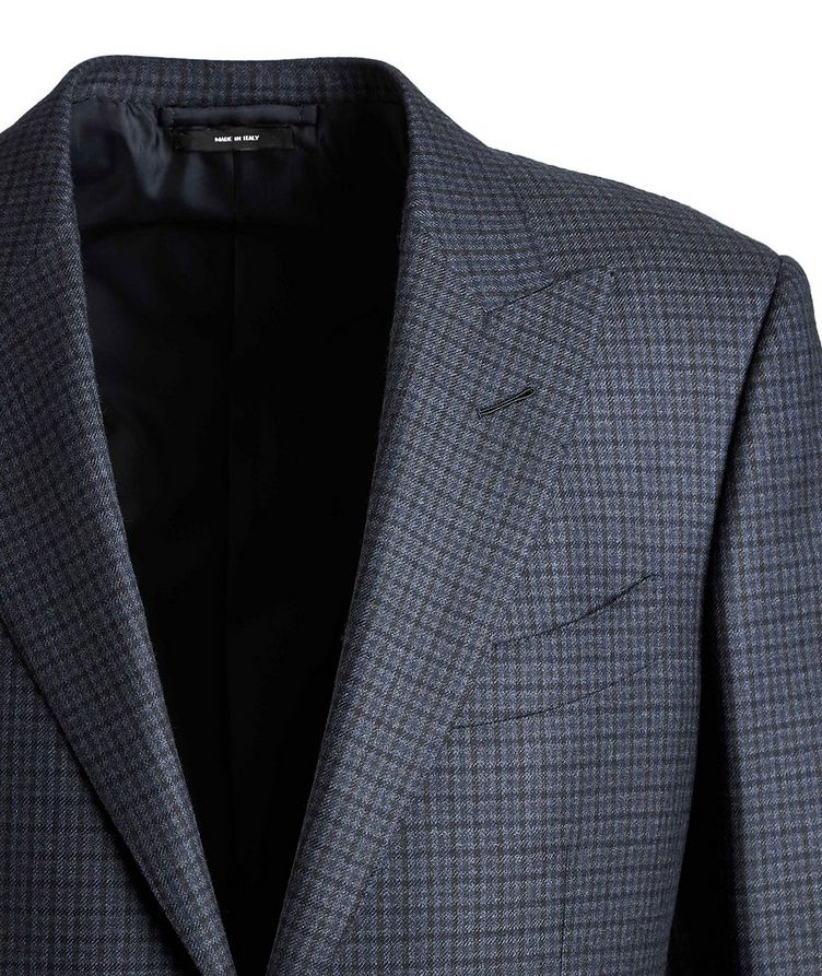 O'Connor Checked Wool Suit image 2