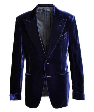 TOM FORD Shelton Velvet Tuxedo Jacket