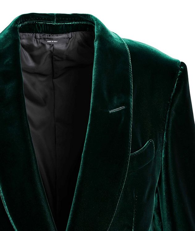 Shelton Velvet Tuxedo Jacket picture 3