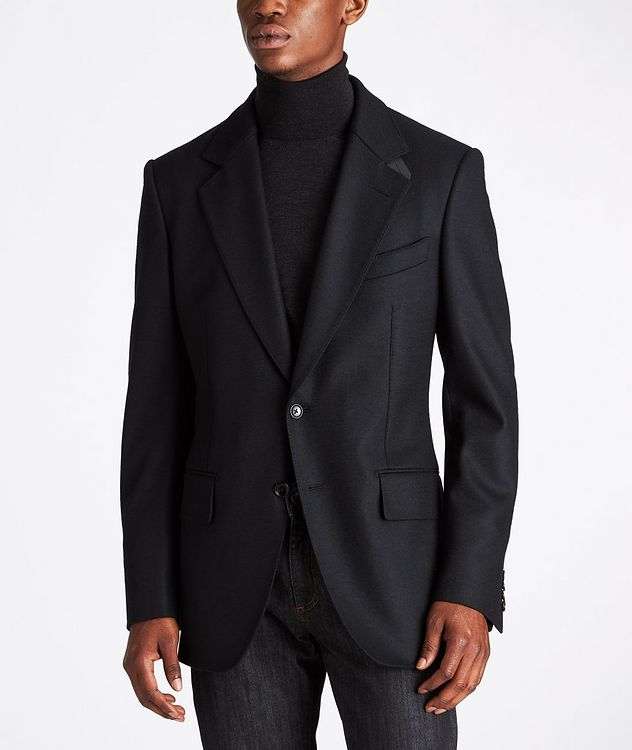 Basic Double Unstuctured Sports Jacket picture 2