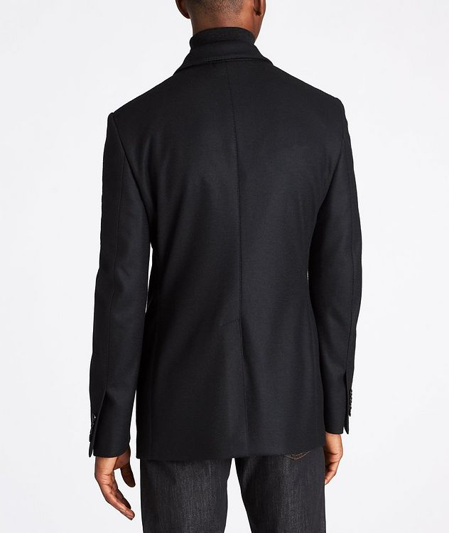 Basic Double Unstuctured Sports Jacket picture 3