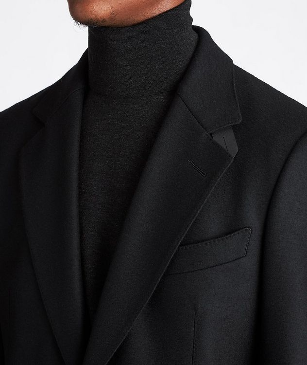 Basic Double Unstuctured Sports Jacket picture 4