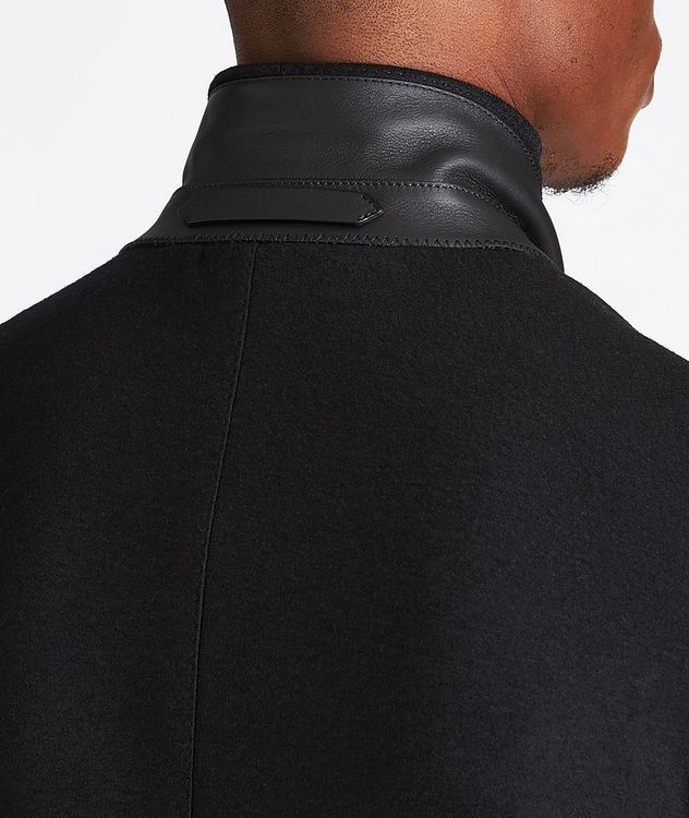 Basic Double Unstuctured Sports Jacket picture 5