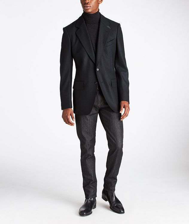 Basic Double Unstuctured Sports Jacket picture 6
