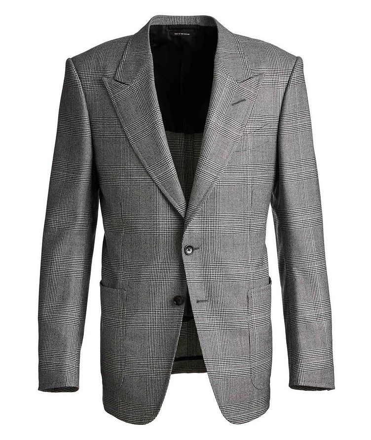 Shelton Houndstooth Wool Sports Jacket image 0