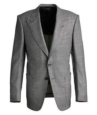 TOM FORD Shelton Houndstooth Wool Sports Jacket