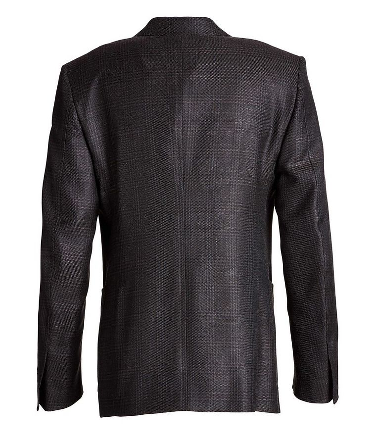 Shelton Checked Wool, Mohair, and Silk Sports Jacket image 1