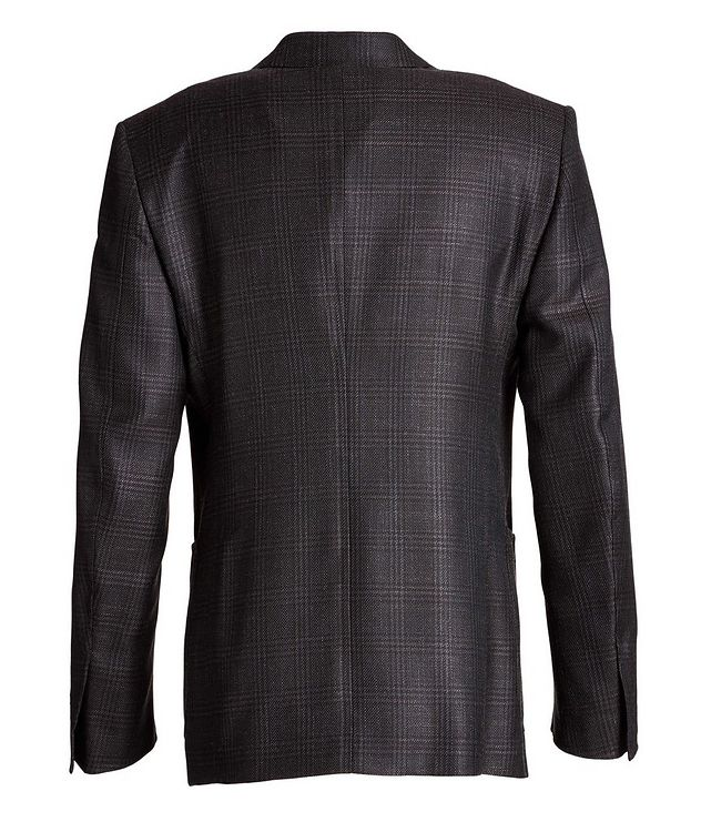 Shelton Checked Wool, Mohair, and Silk Sports Jacket picture 2