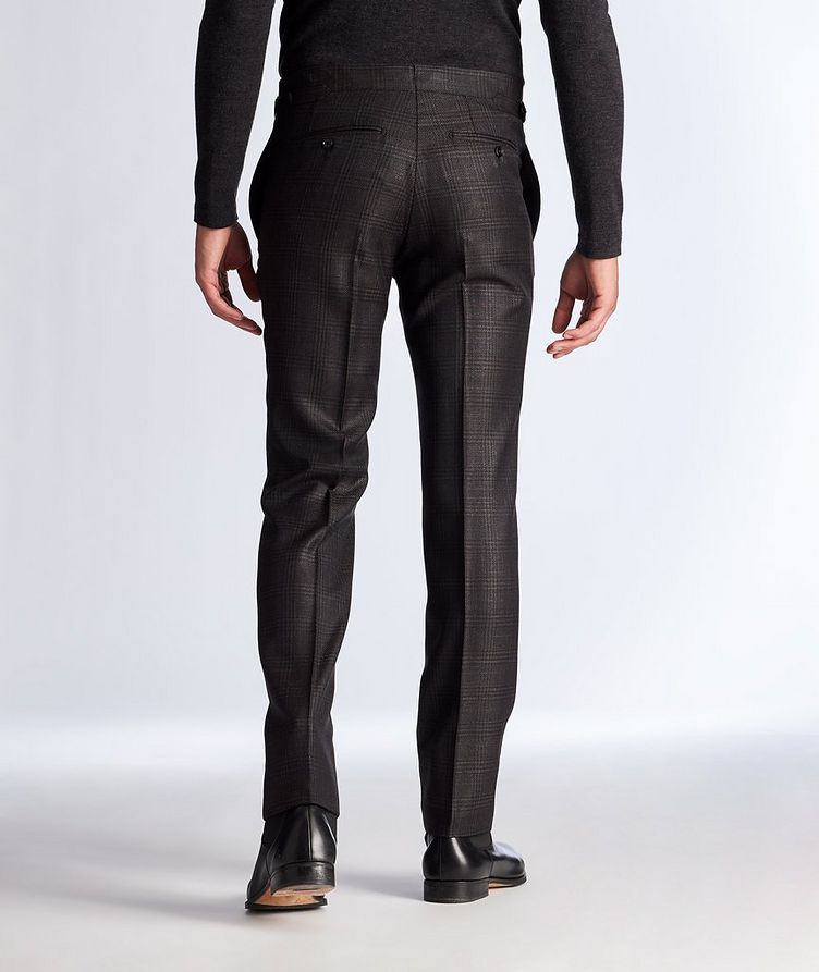 Slim Fit Wool, Mohair, and Silk Dress Pants image 1