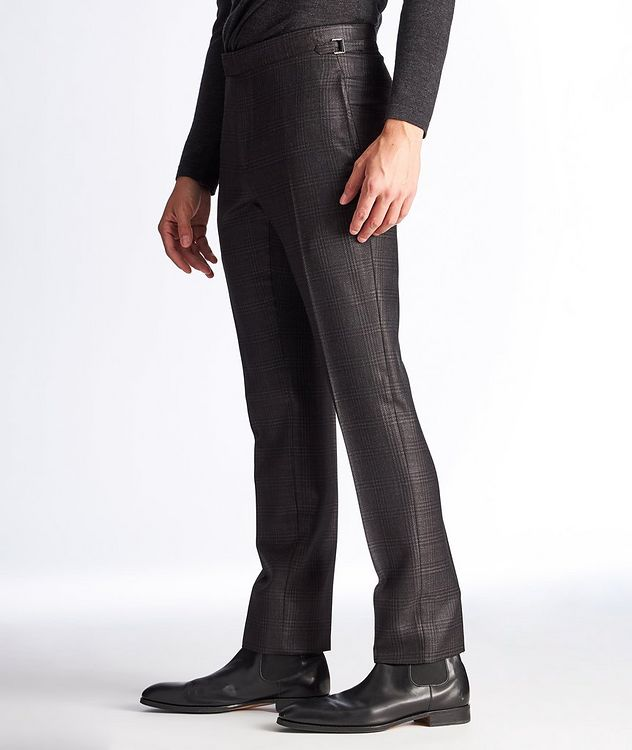 Slim Fit Wool, Mohair, and Silk Dress Pants picture 4