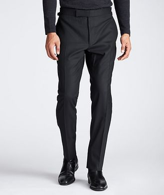 TOM FORD Slim Fit Stretch-Wool Dress Pants
