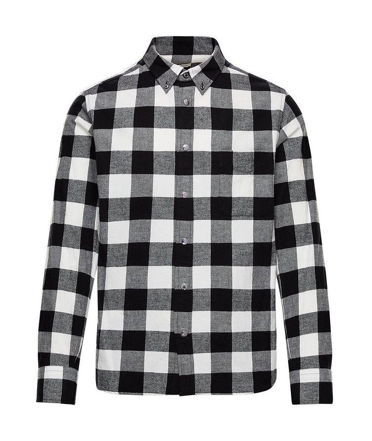 Buffalo-Checked Cotton Shirt image 0