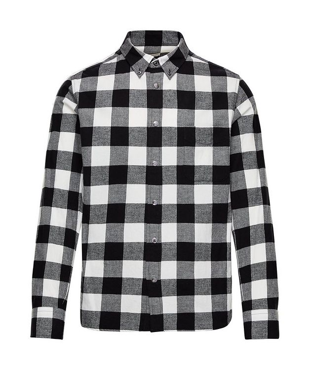 Buffalo-Checked Cotton Shirt picture 1