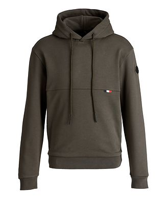 Moncler Printed French Terrycloth Hoodie