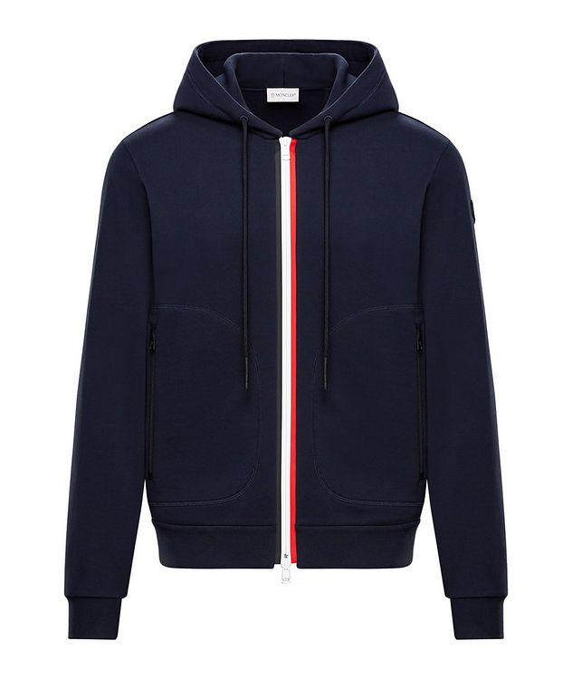 Zip-Up Tricolour Hoodie picture 1