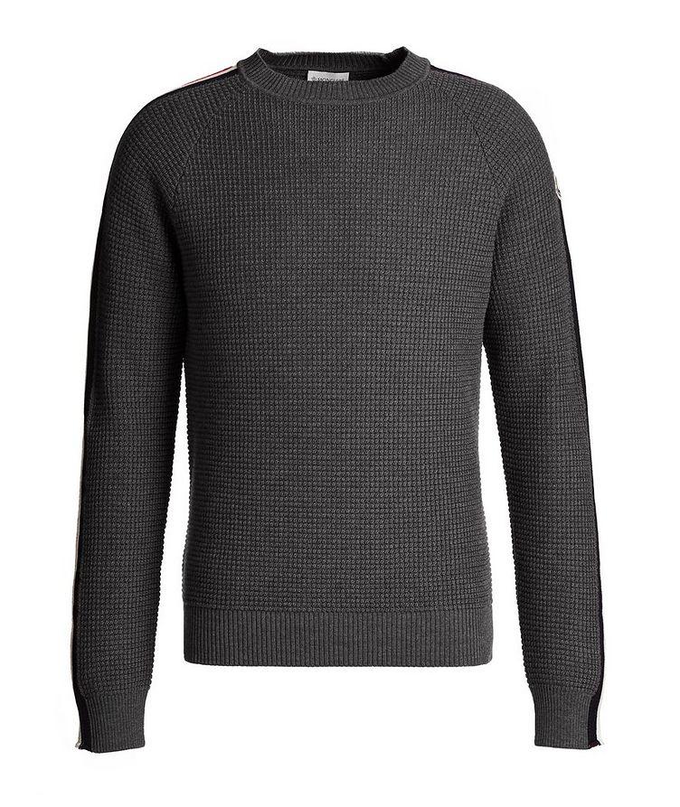Waffle-Knit Wool Sweater image 0