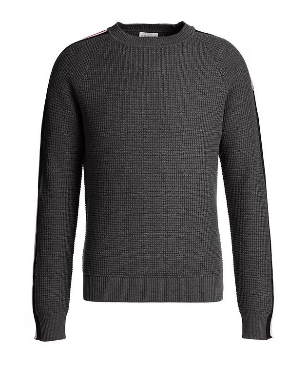 Waffle-Knit Wool Sweater picture 1