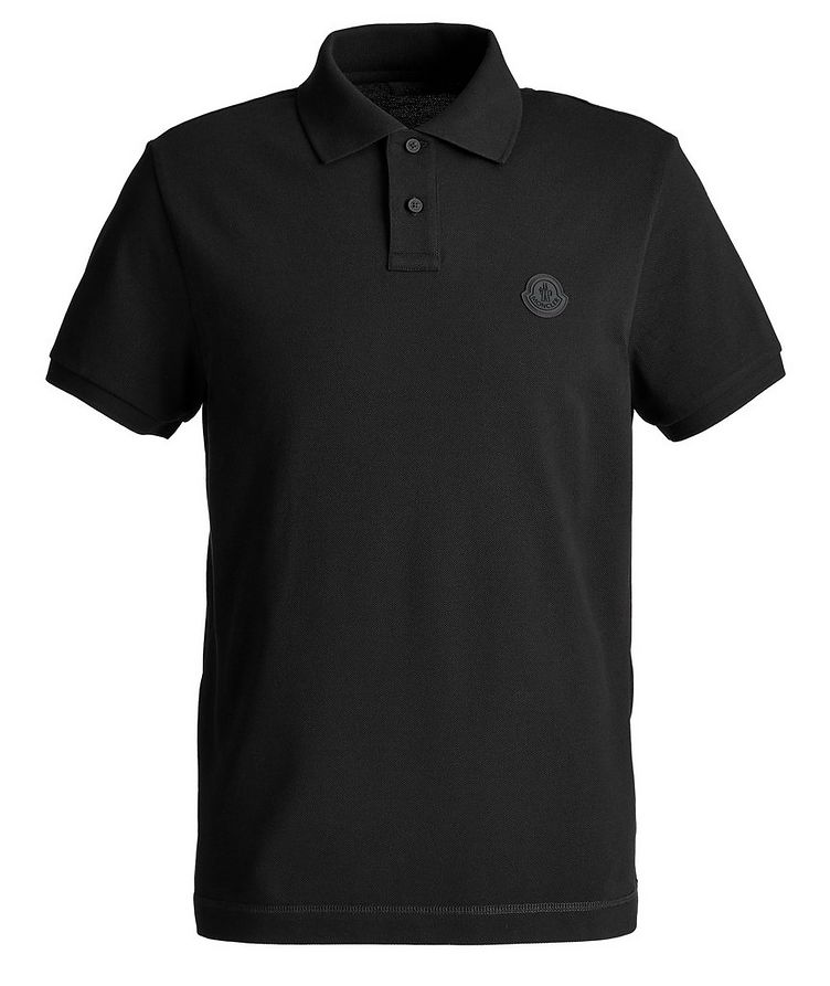 Cyclist Cotton Piqué Polo image 0