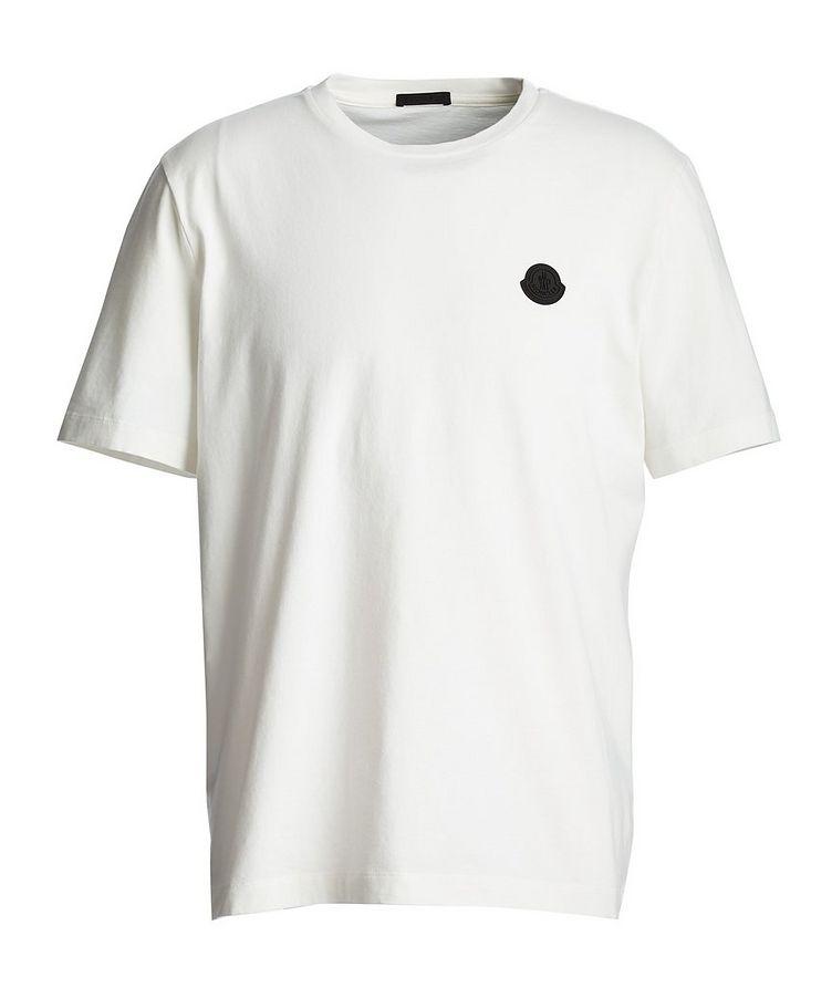 T-shirt en coton à motif géométrique image 0