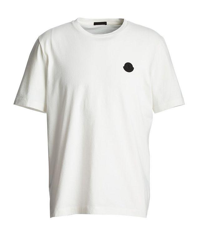 T-shirt en coton à motif géométrique picture 1