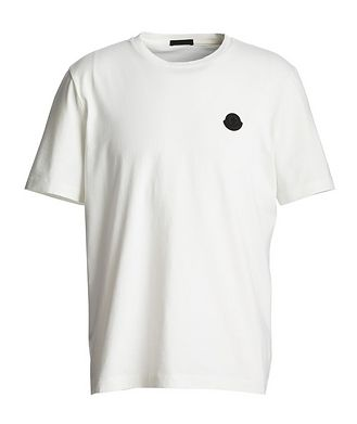 Moncler Geometric Cotton T-Shirt