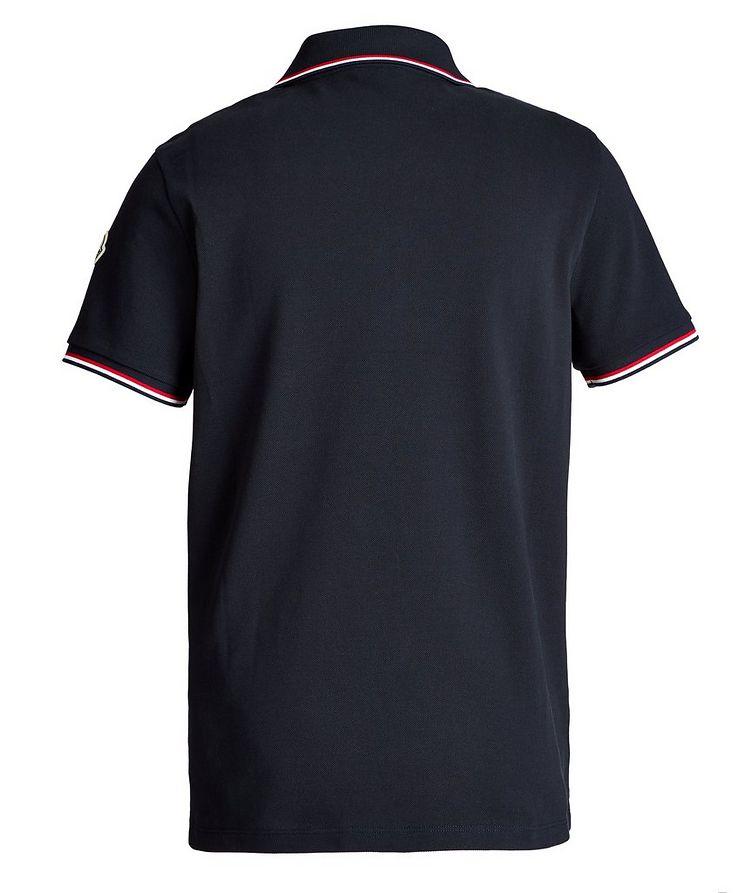 Half-Zip Cotton Piqué Polo image 1