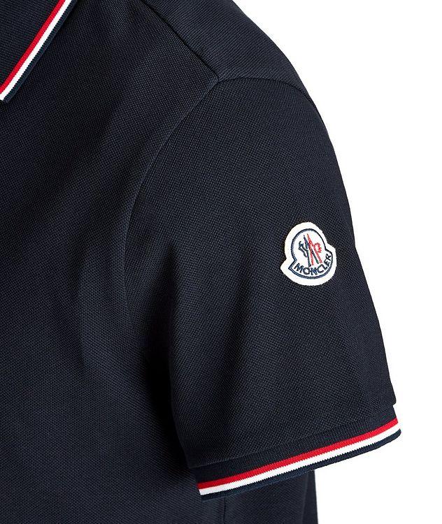 Half-Zip Cotton Piqué Polo picture 3