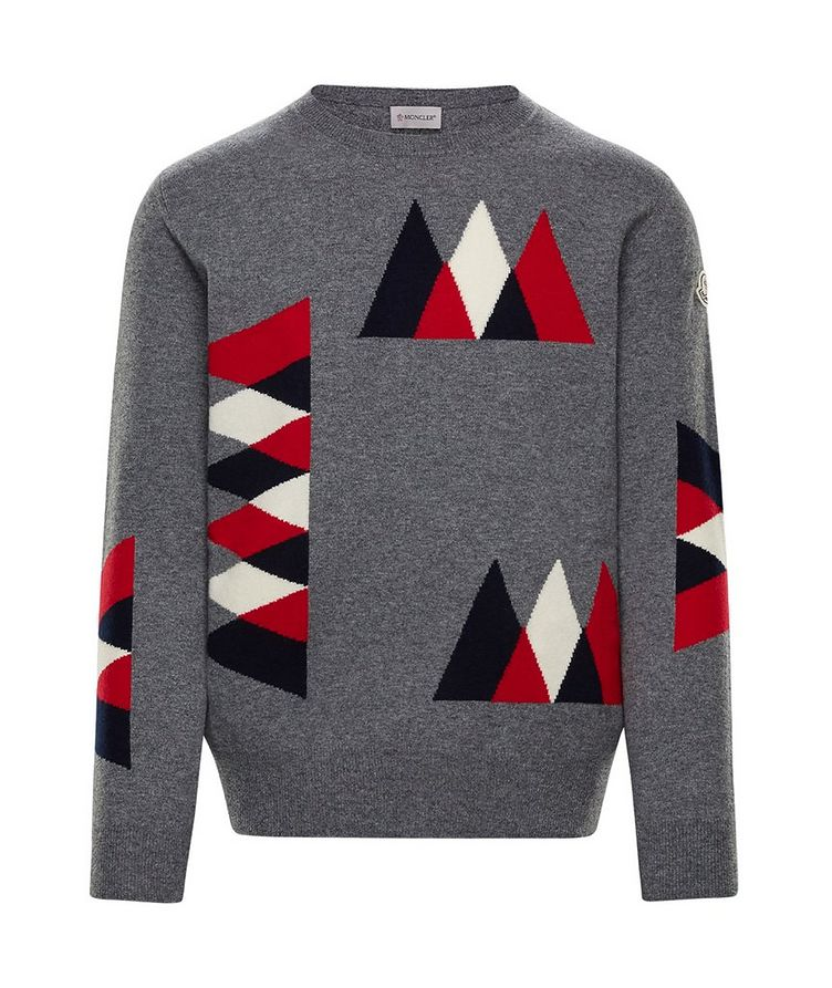 Intarsia Wool-Cashmere Sweater image 0