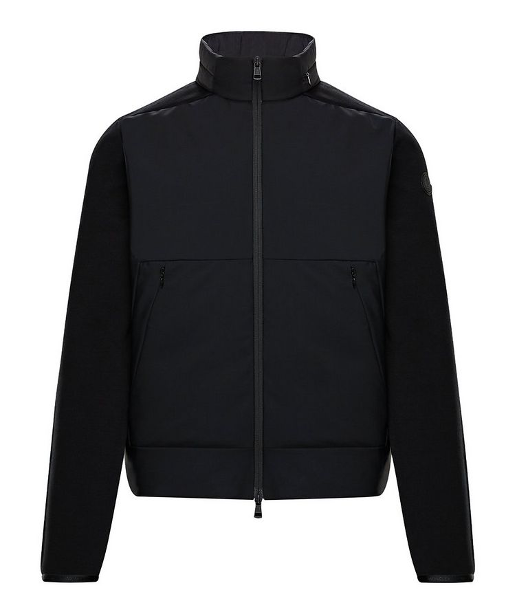 Zip-Up Down-padded Sweater image 0