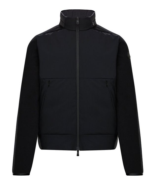 Zip-Up Down-padded Sweater picture 1