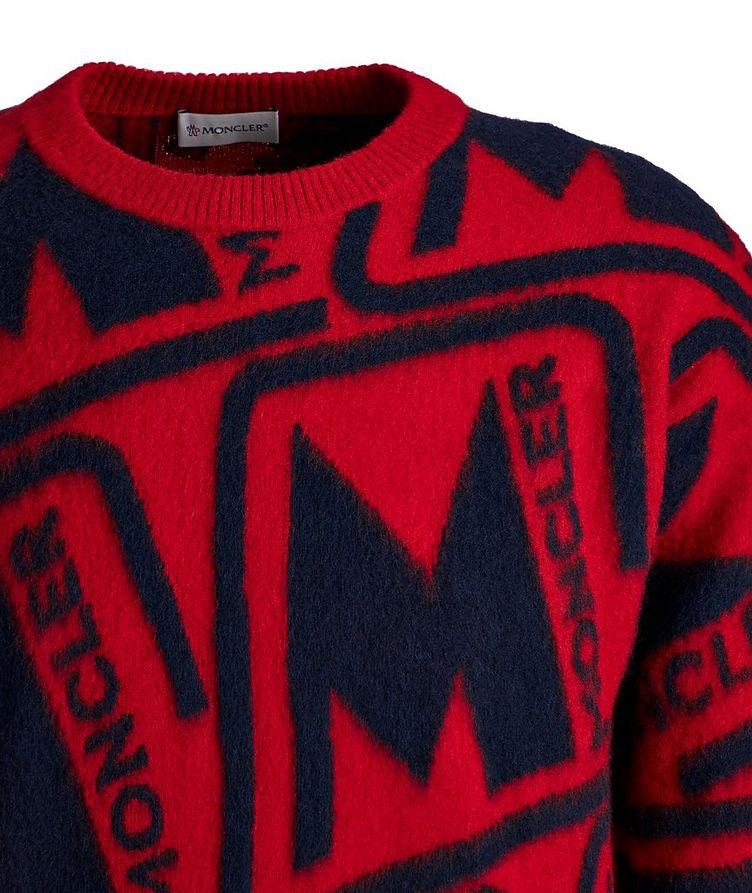 Intarsia Wool Sweater image 2